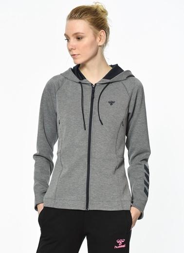 Kapüşonlu Fermuarlı Sweatshirt Hummel